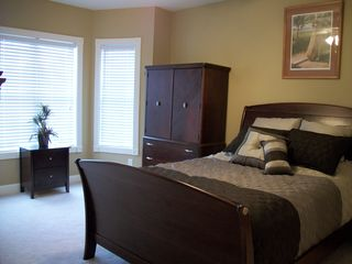 Myrtlewood Villas condo photo - Master Bedroom w/ View of Lake