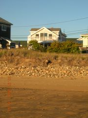 Plum Island condo photo - View of the cottage from the beach
