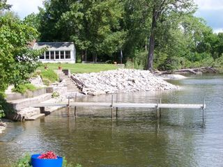Alburg estate photo - Dock and Mooring