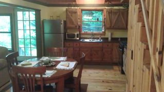 Ellijay cabin photo - Kitchen from Porch
