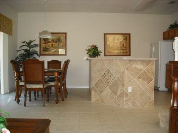 Our Breakfast Bar & Dining Area