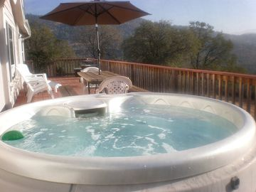 Mariposa chateau / country house rental - Relax in the cool mountain air