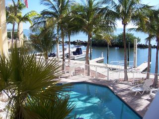 Long Key condo photo - Take a dip in the Pool or Head on down to the Dock