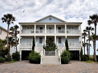 "Ocean's ""8"".  8BR/9BA Oceanfront Isle of Palms Home with Private Pool"