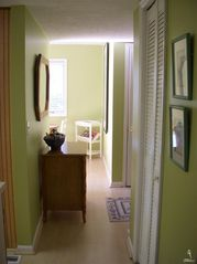 Bald Head Island condo photo - hallway connecting bedrooms