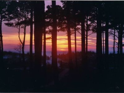 Cape Charles house rental - Incredible sunsets from your private backyard or Private Chesapeake Bay Beach