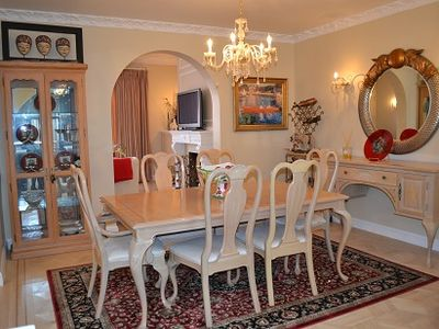 San Francisco townhome rental - Dining room with Italian chandelier and sconces. Designer touches thru-out.