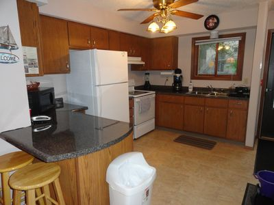Wisconsin Dells townhome rental - Full kitchen