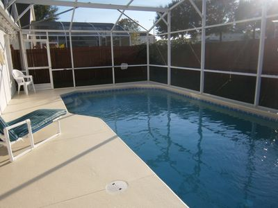 Lake Davenport Estates villa rental - Pool