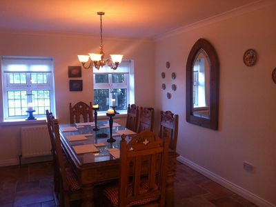 Old Essmore Cottage Dining Area