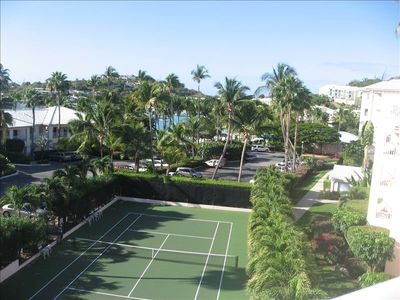 Property tennis court
