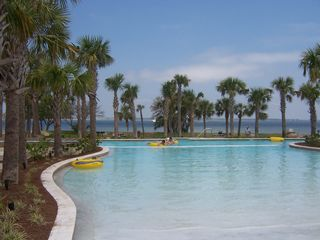 Fort Walton Beach condo photo - Zero entry pool