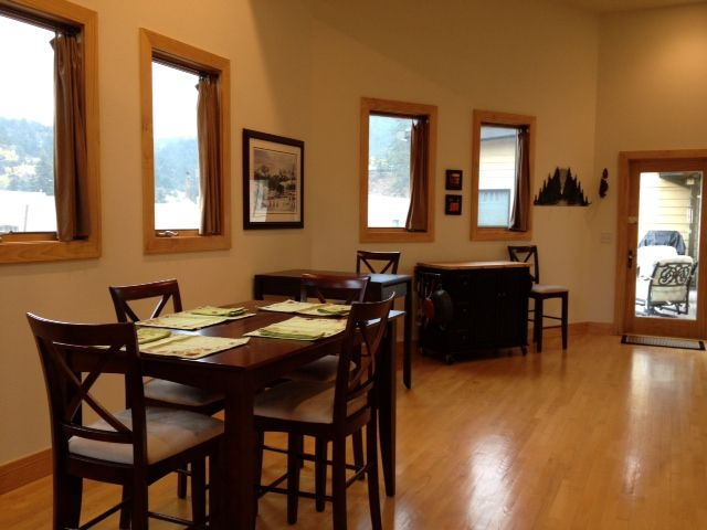 Estes park vacation rental vrbo 440255 2 br front for Table 52 parking