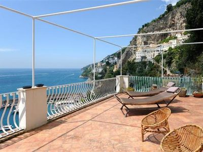 Apartment for 6 people close to the beach in Amalfi