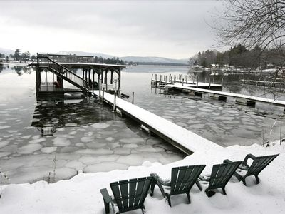 Winter at Longview offers skiing, ice fishing, snow shoeing and snowmobiling.