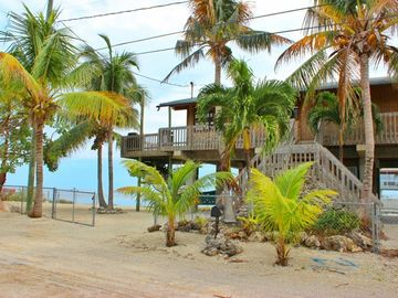 Key Largo house rental - Your Beautiful Ocean Front Key Largo Cabin