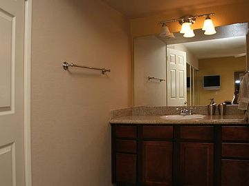 On Suite Master Bath with walk in shower
