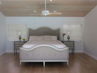 Vero Beach house photo - 600 square foot master bedroom #1, vaulted wood ceilings, large private bath
