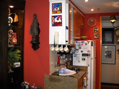 View of Kitchenette from Living Room