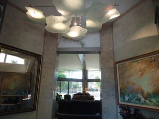 Indian Wells estate photo - 15' tall entry with amazing chandelier