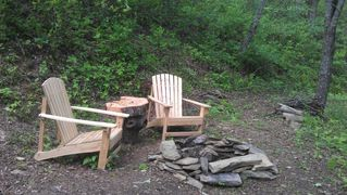 Ellijay cabin photo - Firepit