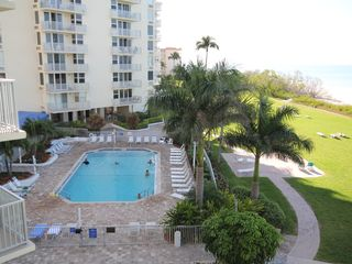 Fort Myers Beach condo photo - Georgeous views of the gulf & beach from the condo looking west.