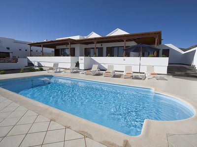 large luxury villa with private pool