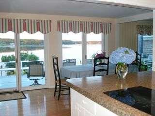 Yarmouth house photo - Kitchen & Dining with a View