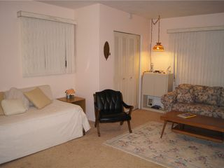 Clearwater house photo - Family room has queen sleep sofa, twin trundle beds and private bath