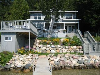 Lakeside View of Cottage