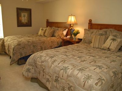 Large Bedrooms with private baths