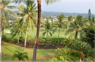 Golf course view from Guest Suite.