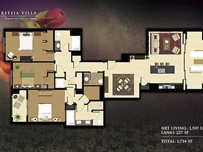 Floor Plan of Your Penthouse