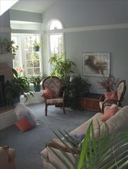 Anchorage house photo - Living Room is Sunny all year round, w/views of forest, ocean, mountains