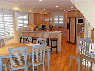Virginia Beach house photo - Gourmet kitchen on 2nd floor w/ breakfast bar - A cook's delight!