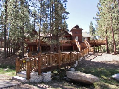 A Beautiful Log Cabin Located on a Large Lot