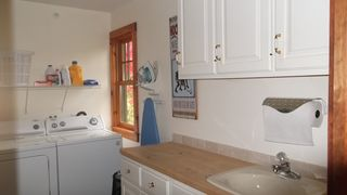 Lake Placid property rental photo - Spacious Laundry Room.