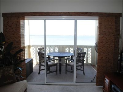 Viewof balcony and bay from Living Room