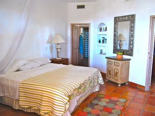 Master Bedroom 2 & en suite bathroom with shower - Cabo San Lucas villa vacation rental photo
