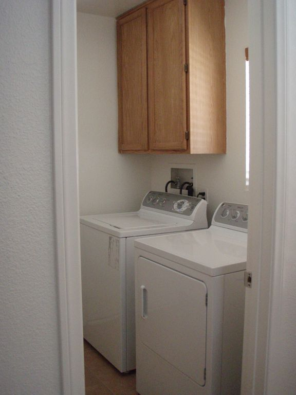 washing and dryer room
