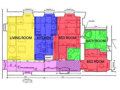 map of the apt