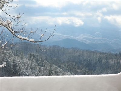 The Smokies are never more beautiful than when blanketed with snow.