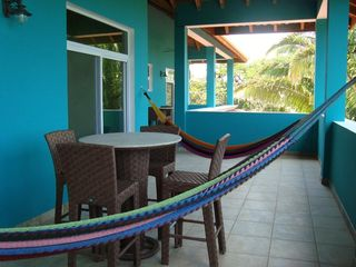 Trujillo house photo - Upper balcony featuring hammocks and seating areas