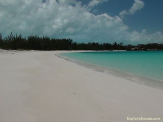 Great Exuma villa photo - A great shot of Jolly Hall Beach! Face it, you will spend a lot of time here!