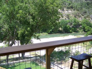 New Braunfels condo photo - deck bar and view of river