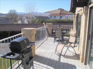 St. George condo photo - Barbecue your Favorite Meal, while watching the Sunset on the Large Deck