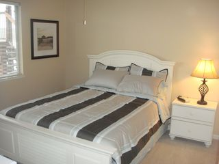 Osage Beach condo photo - Queen size pillowtop bed with a flat screen TV....