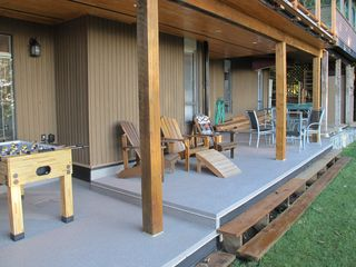 Vancouver apartment photo - Private Covered Deck Area
