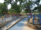 Zilker Park just down the street has huge playscape and kiddie train!