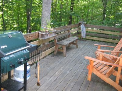 Enjoy the deck - new grill this season!